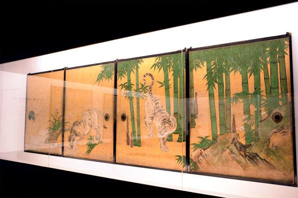 南禅寺本坊小方丈障壁画のうち 群虎図 狩野探幽筆|江戸時代 17世紀 京都・南禅寺蔵