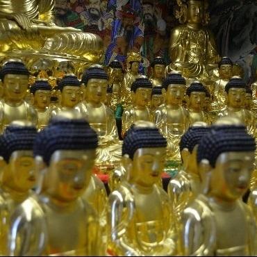 【2位:サンテ,アール プラトー うた湯の郷宿(松阪サンテ)】仏像