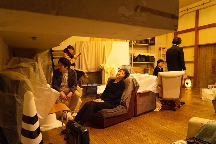 点々の階『点転』2021年2月の大阪公演より。 [撮影]beni taeko