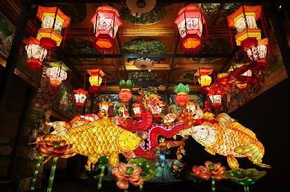 『和のあかり×百段階段 2019』が開幕 文化財を華やかに彩る究極の日本美イルミネーション