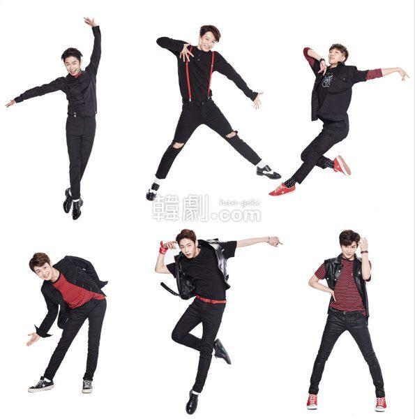 (写真上段左から)エンジェル役のキム・ジュンレ、ウ・ジウォン、クォン・ヨングク (写真下段左から)ソン・ユテク、ハン・ソンチョン、パク・ジンサン