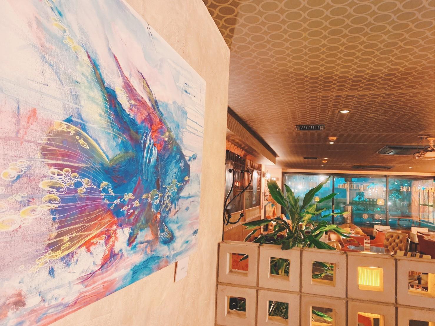 湯木個展:桜丘カフェ