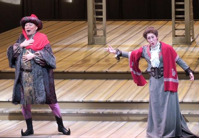 ニコライ作曲 歌劇「ウィンザーの陽気な女房たち」(2015年11月)より (提供:関西二期会)