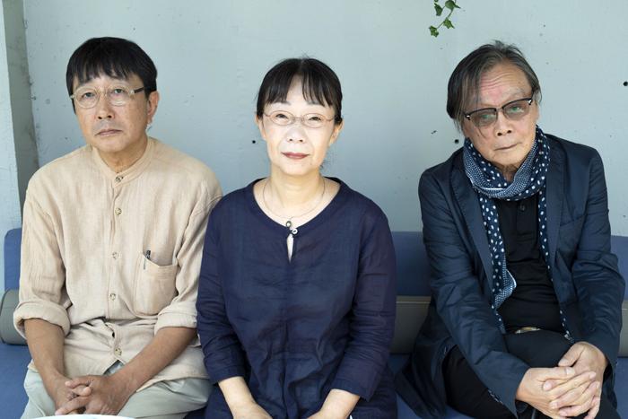 (左から)天野天街、近藤ようこ、巖谷國士 (撮影:池上夢貢)