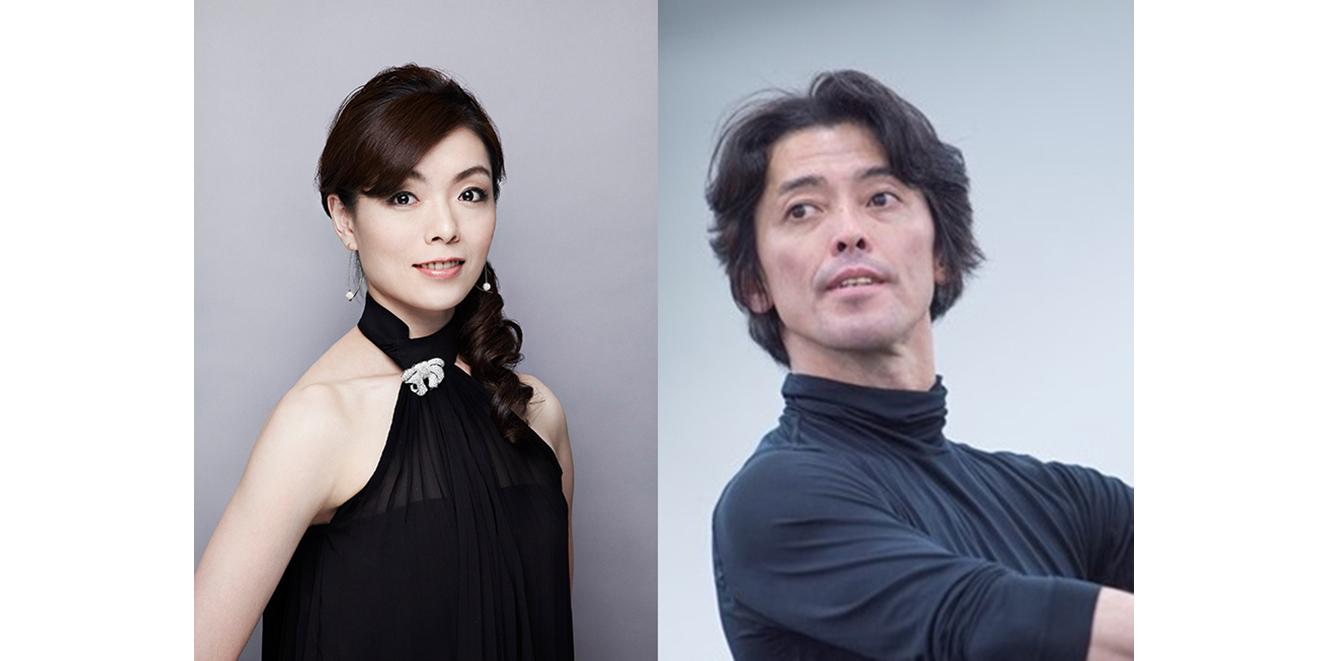 (左から)長田佳世/高岸直樹