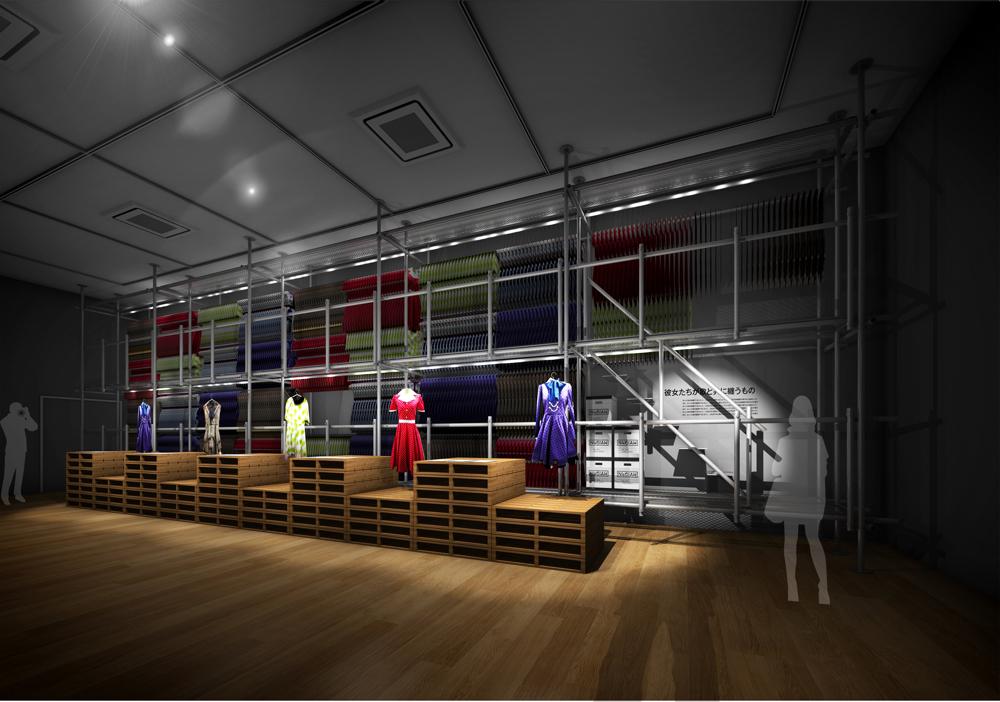『乃木坂46 Artworks だいたいぜんぶ展』会場イメージ (C)乃木坂46LLC