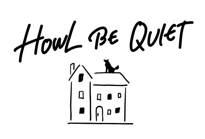 HOWL BE QUIET アーティストロゴ