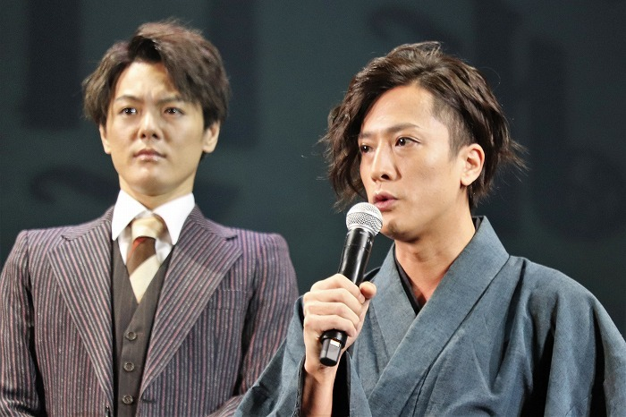 内博貴(右)と室龍太