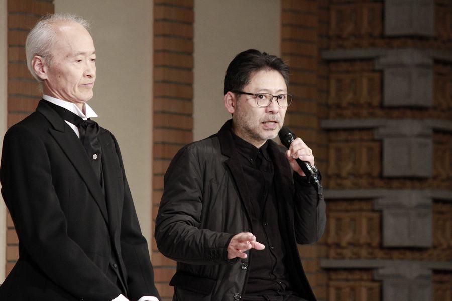 (左から)花王おさむ、山田和也