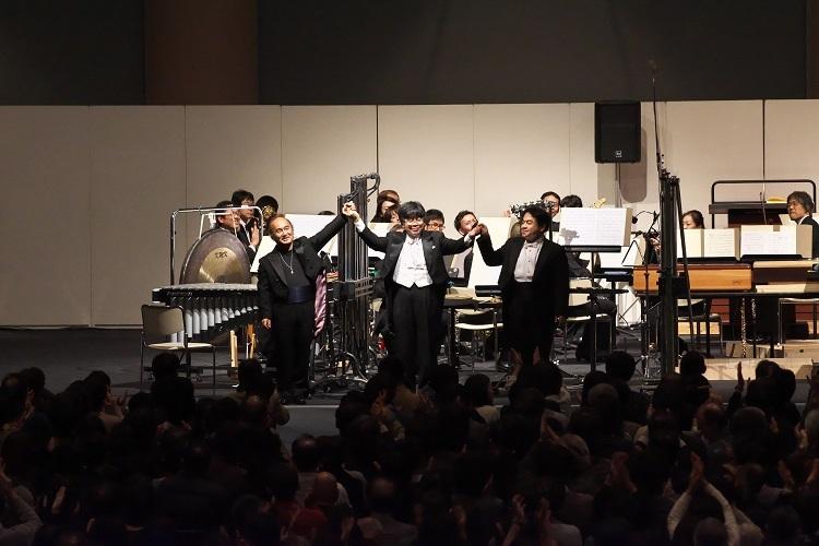 「グルッペン」を大成功に導いた3人の指揮者陣 (c)Tatsuo Sasaki