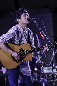 """石崎ひゅーい、代々木公園でのフリーライブに2,000人が集結 """"石崎ひゅーい""""始まりの曲から新曲まで9曲を披露"""