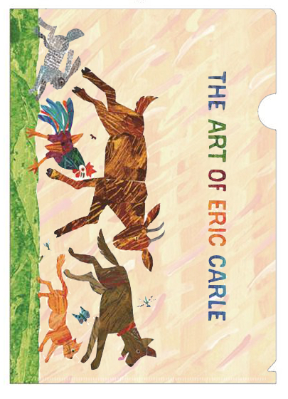 『THE ART OF ERIC CARLE エリック・カール展』A4クリアファイル(4種類)各430円