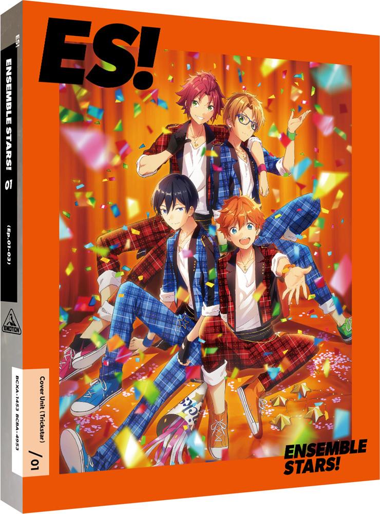 TVアニメ『あんさんぶるスターズ!』Blu-ray&DVD第1巻 (C) Happy Elements K.K/あんスタ!アニメ製作委員会