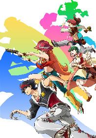 谷口悟朗×中島かずきのオリジナルTVアニメ『バック・アロウ』作品情報を『アニプレ48時間テレビ!」で一挙公開