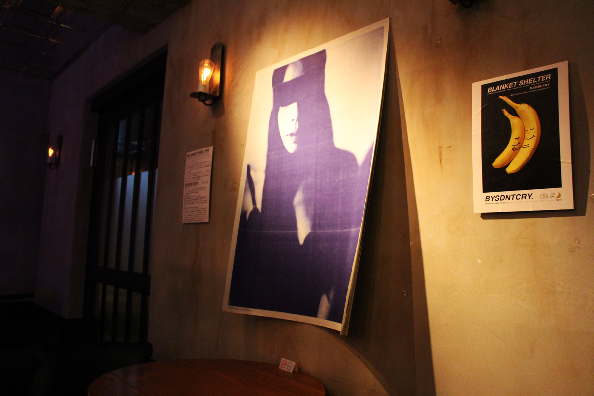 eplus LIVING ROOM CAFE&DININGでの展示の様子