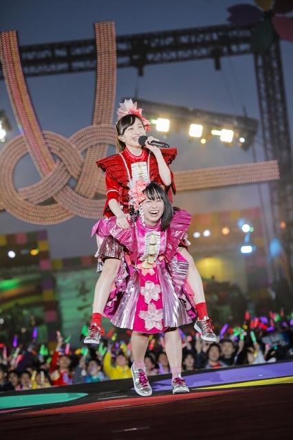 『ももクロ春の一大事2017 in 富士見市〜笑顔のチカラつなげるオモイ〜』1日目 Photo by HAJIME KAMIIISAKA+Z