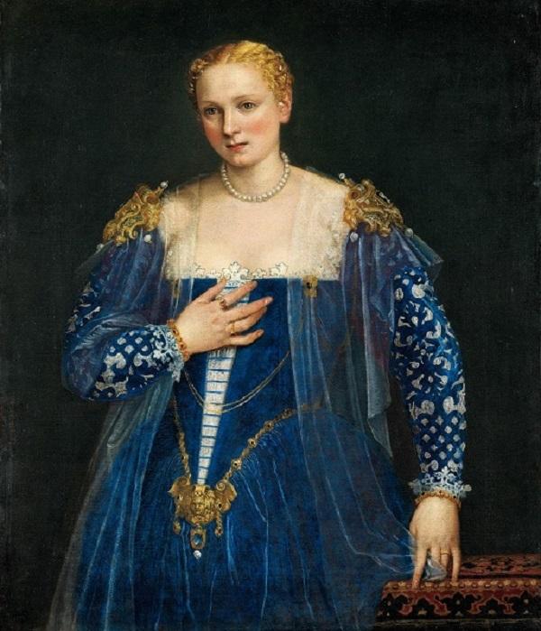 ヴェロネーゼ(本名パオロ・カリアーリ)《女性の肖像》、通称《美しきナーニ》1560年頃 Photo © RMN-Grand Palais (musée du Louvre) / Michel Urtado /distributed by AMF-DNPartcom