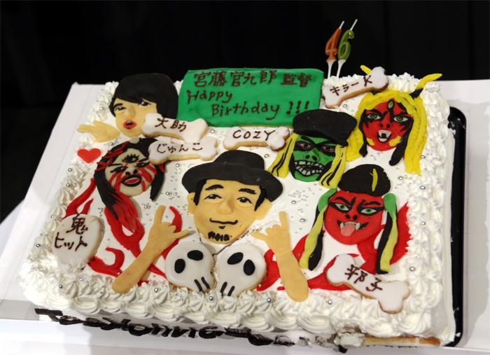 鬼カワイイケーキ☆改めて、お誕生日おめでとうございます!
