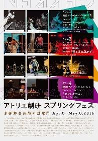 京都で「アトリエ劇研スプリングフェス」開催