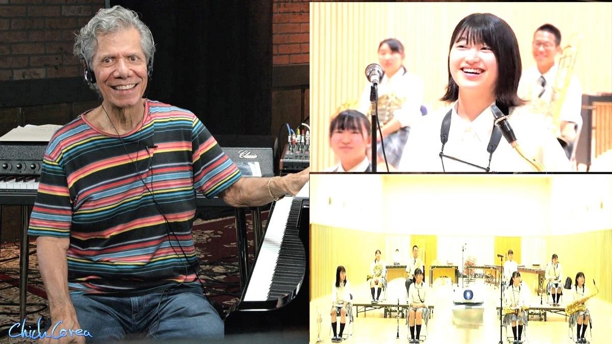 チックコリア&福島の高校生吹奏楽部