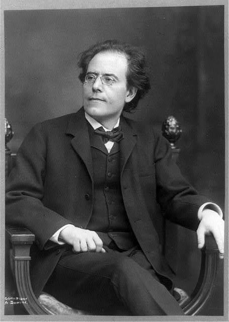 1909年のグスタフ・マーラー