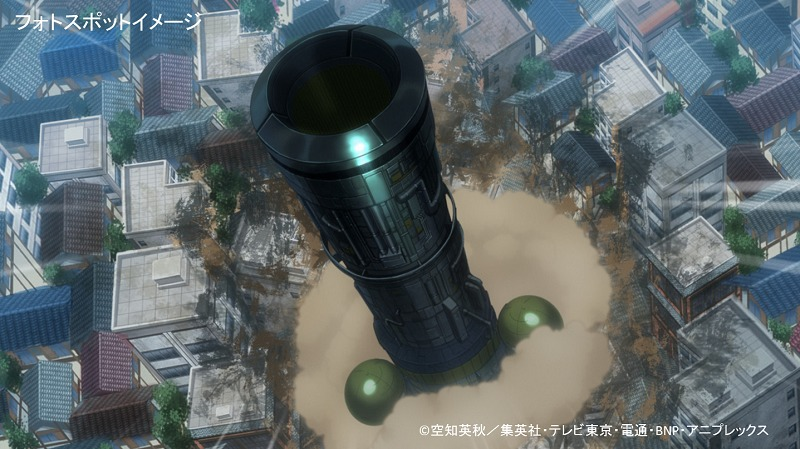 フォトスポットに登場予定の「ネオアームストロングサイクロンジェットアームストロング源外砲」(画像はイメージ) (C)空知英秋/集英社・テレビ東京・電通・BNP・アニプレックス