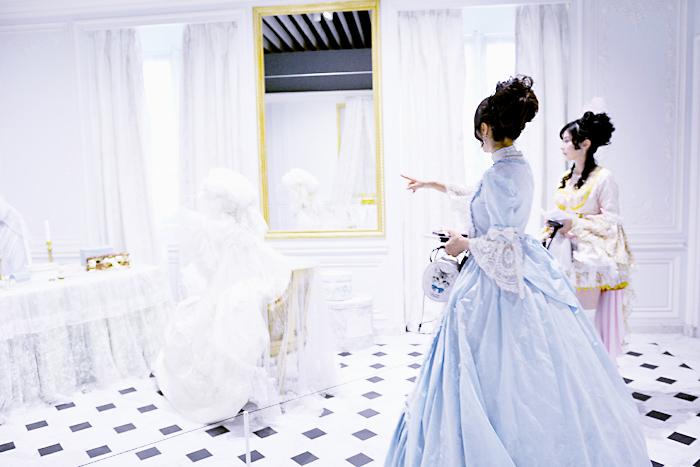 《王妃の浴室・居室》