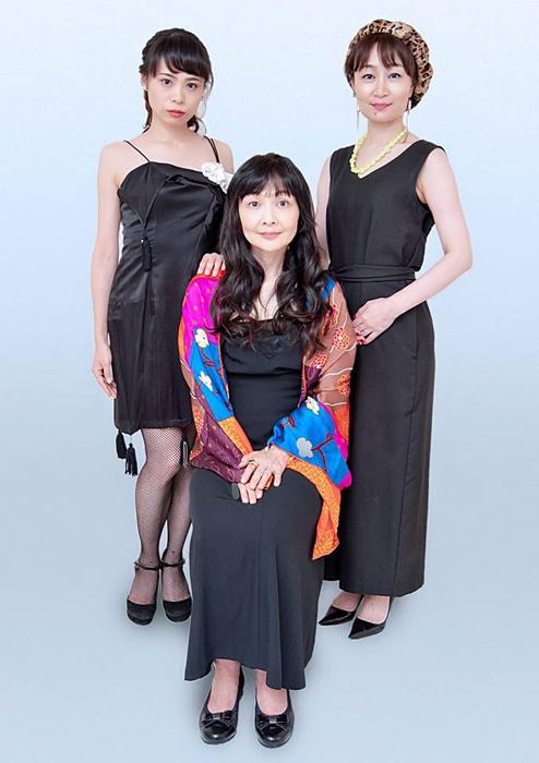 (左より)國武綾、新井友香、高木珠里