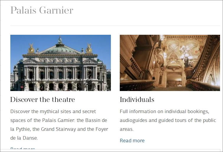 パル・オペラ座ホームページの画像