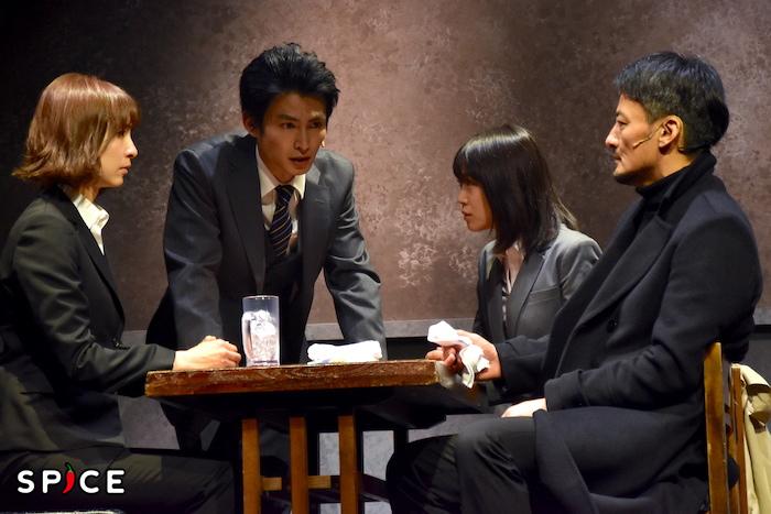 舞台『アンフェアな月』第2弾〜刑事 雪平夏見シリーズ〜『殺してもいい命』のゲネプロの様子