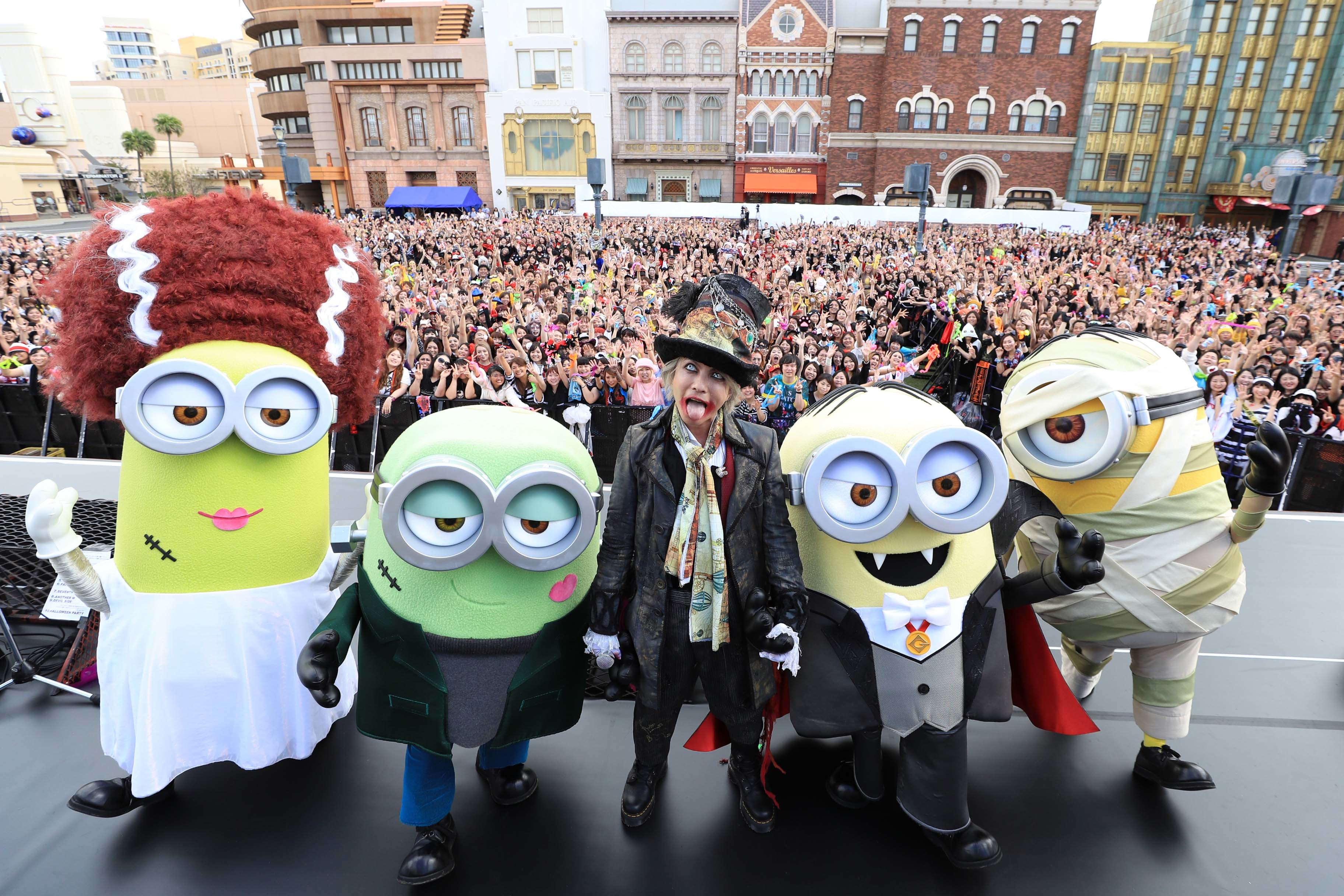 Despicable Me, Minion Made and all related marks and characters are trademarks and copyrights of Universal Studios.  Licensed by Universal Studios Licensing LLC. All Rights Reserved.