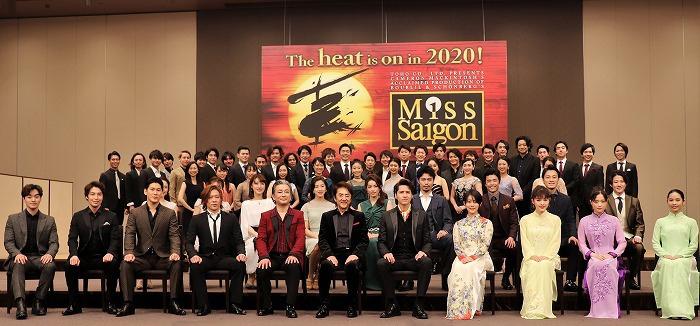 ミュージカル『ミス・サイゴン』2020 製作発表より  (撮影:こむらさき)