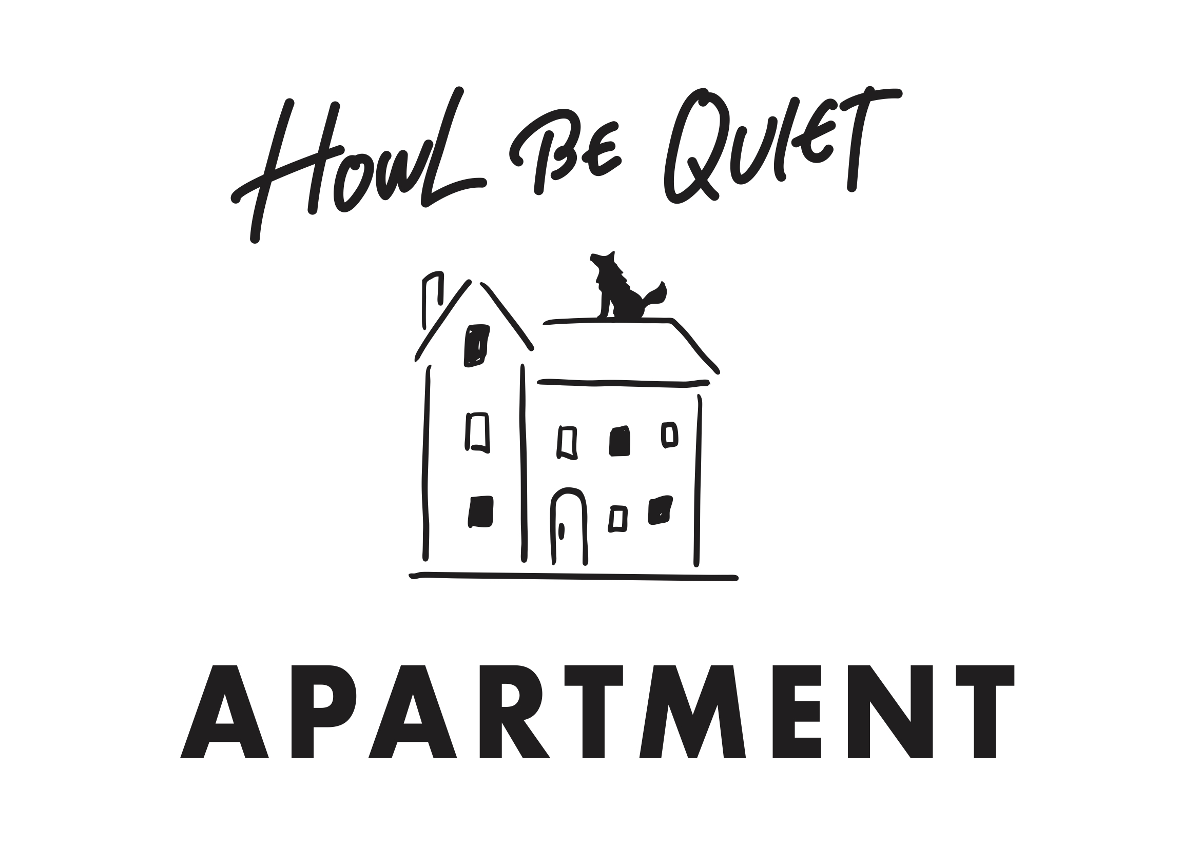 HOWL BE QUIET 新レーベル「APARTMENT」