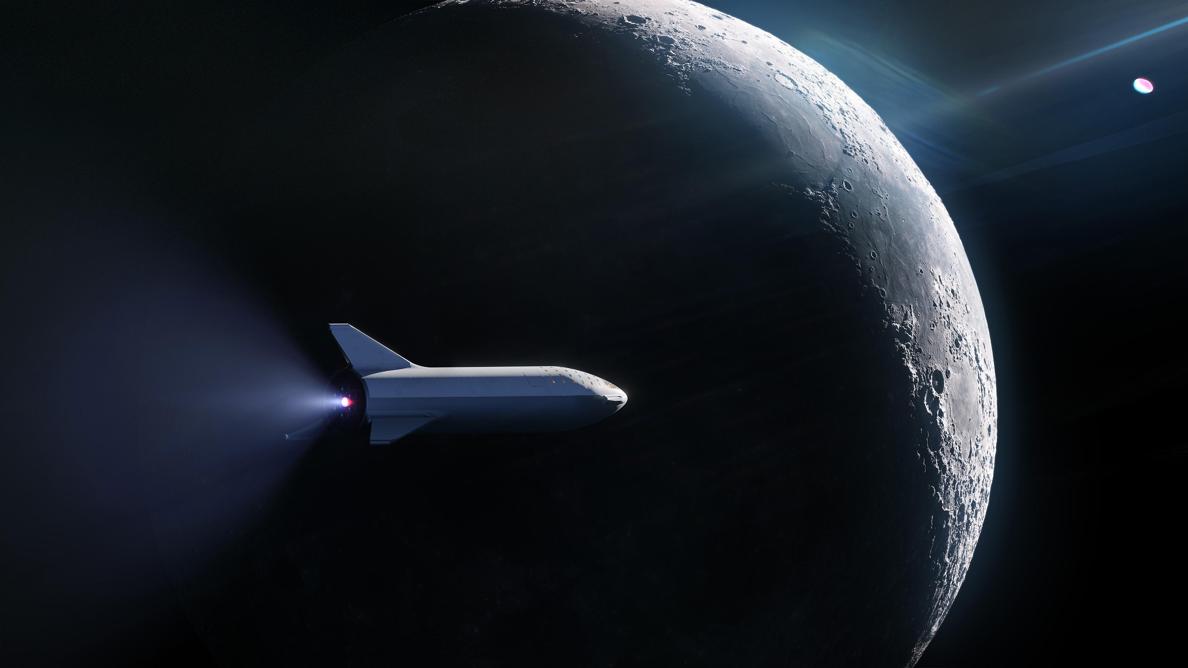 「BFR」による月周回イメージ