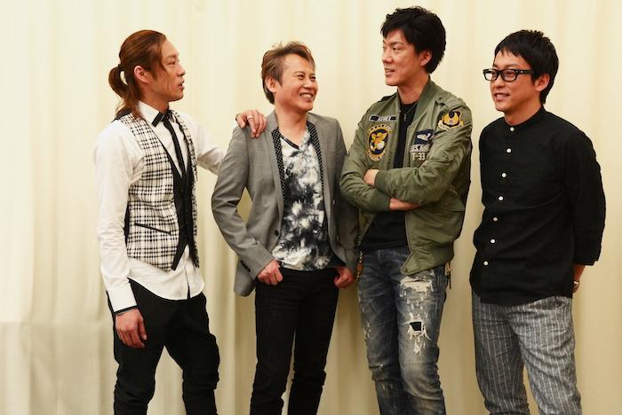 東山義久、玉野和紀、吉野圭吾、西村直人(左から)