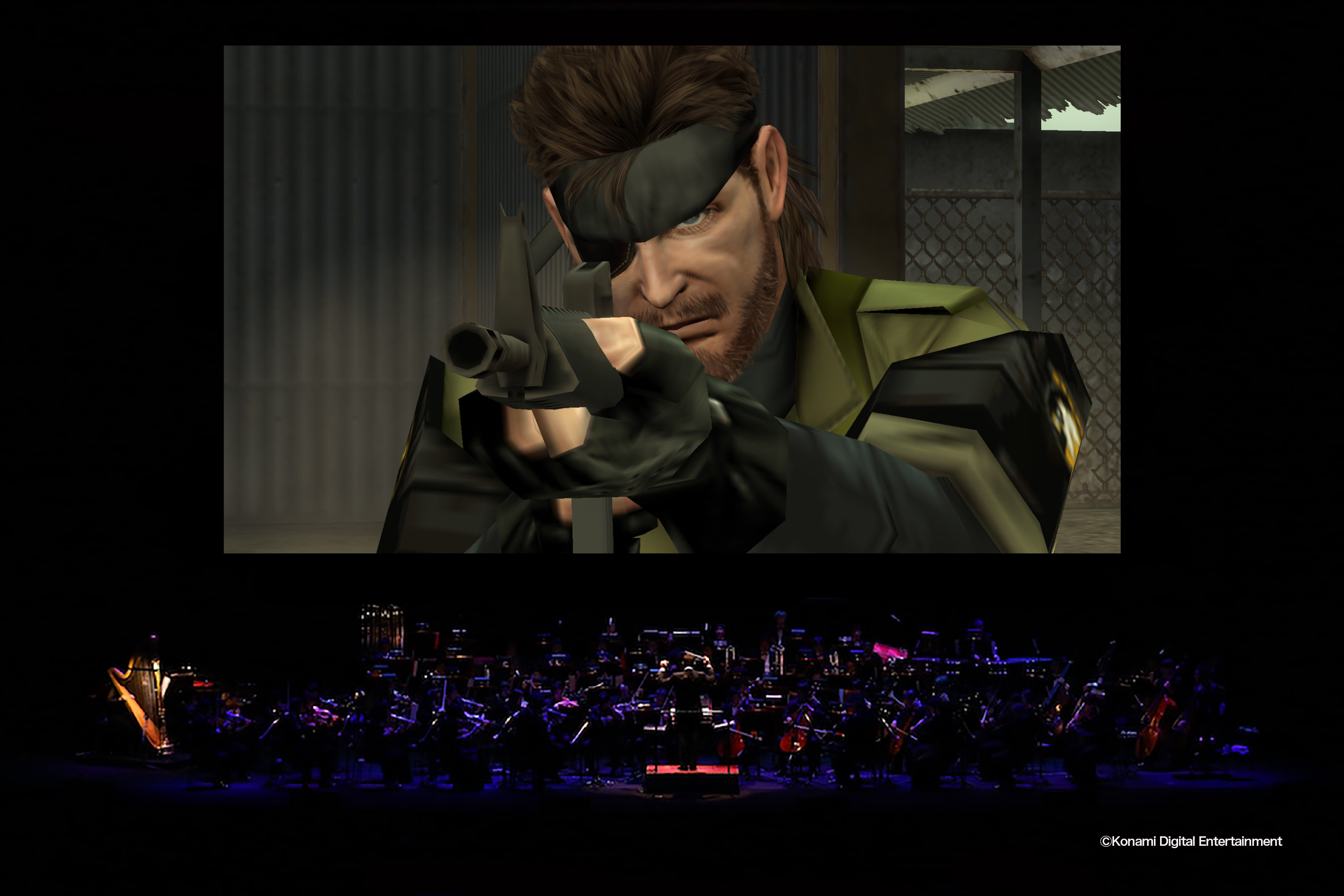 メタルギアinコンサート/ Metal Gear in Concert (C)Konami Digital Entertainment
