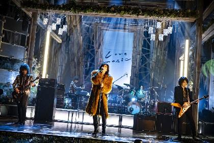 THE YELLOW MONKEY フジテレビ系『Love music』でインディーズ時代の未レコーディング曲「毛皮のコートのブルース」をテレビ初パフォーマンス