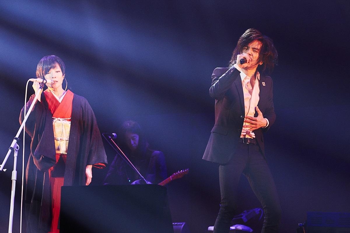 椎名林檎 / 宮本浩次 撮影=太田好治