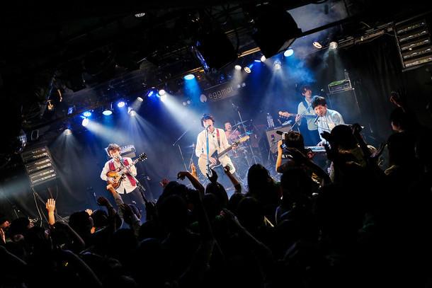 sumika「sumika復活フリーワンマンライブ」東京・Shibuya eggman公演の様子。(撮影:後藤壮太郎)