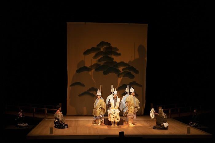 狂言劇場 その九 『鮎』撮影:政川慎治