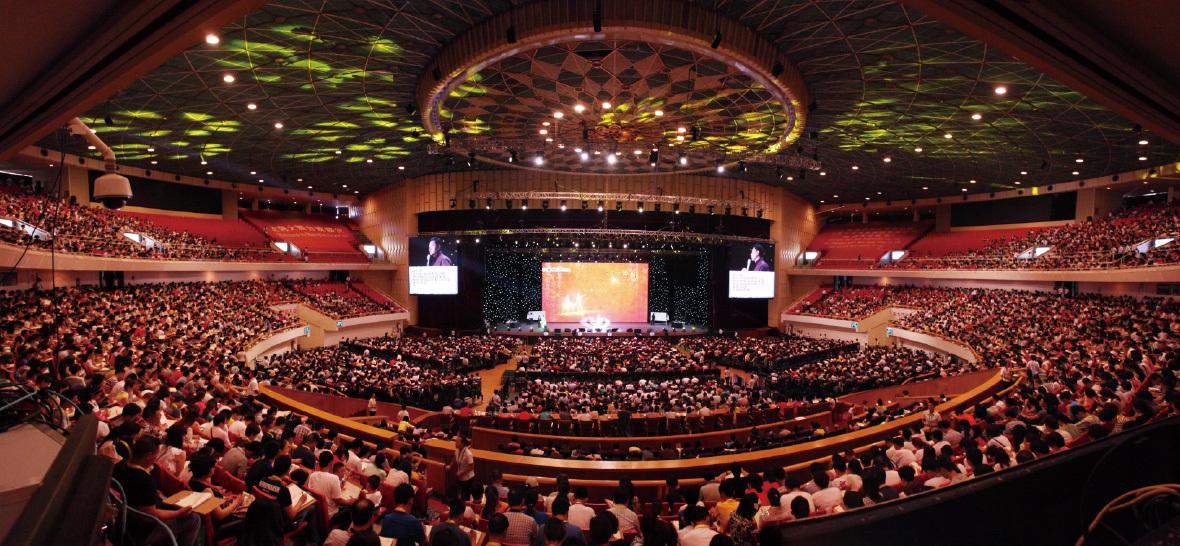 上海大舞台・内観