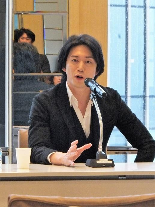 「海賊」の魅力を熱く語るKバレエカンパニー プリンシパル宮尾俊太郎 (C)Isojima