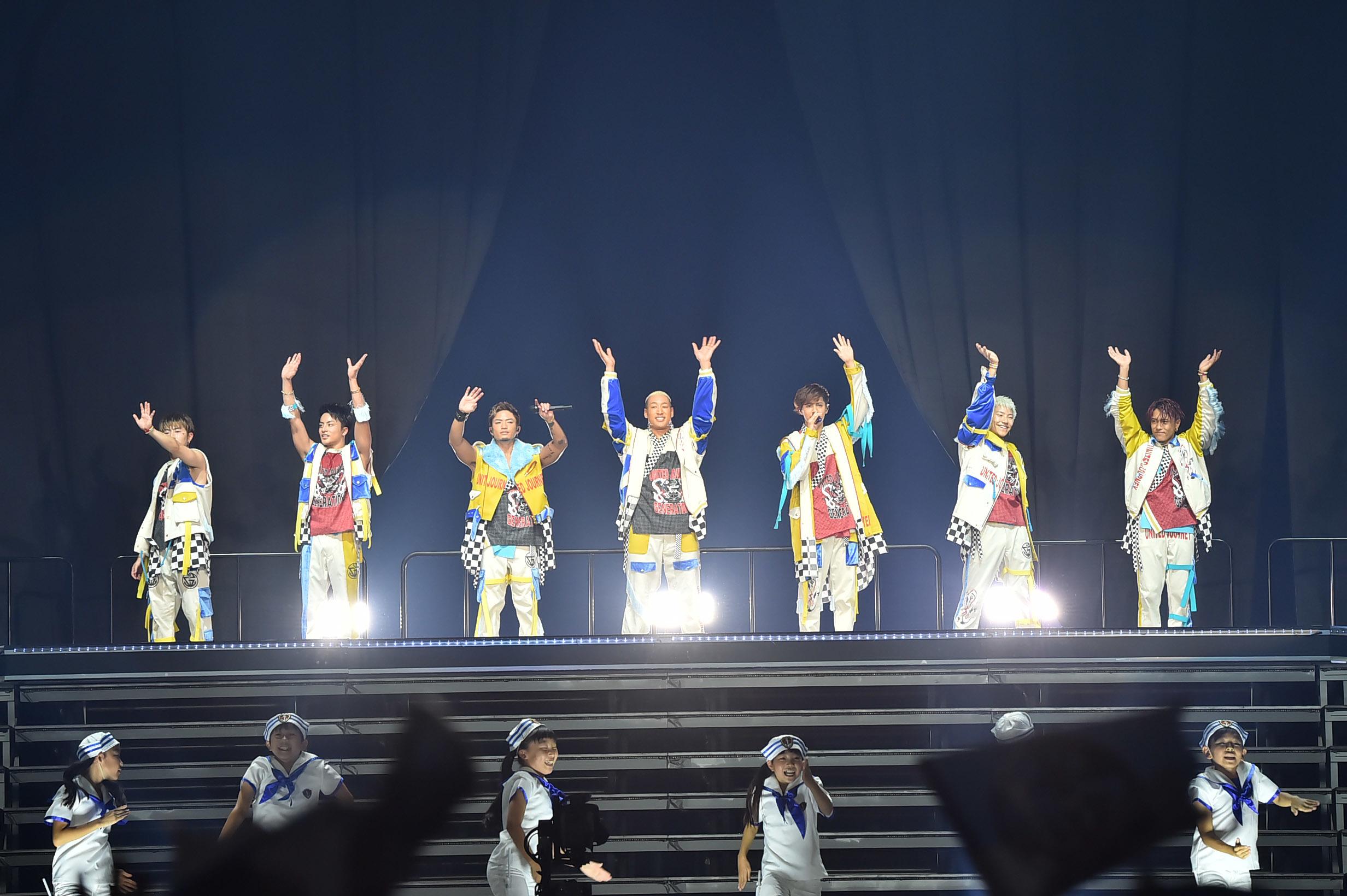 "『GENERATIONS LIVE TOUR 2018 ""UNITED JOURNEY』最終公演"