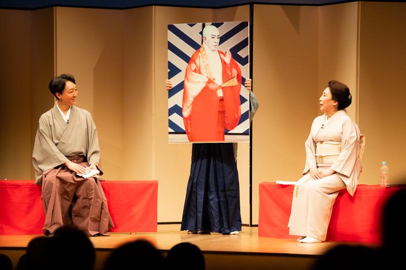 「父は新しい人でした。ただ偏屈!」と語られた十七世勘三郎はエピソードは笑いの連続でした。