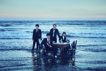 BLUE ENCOUNT、ニューアルバム『Q.E.D』を11月にリリース決定 新アーティスト写真も公開に