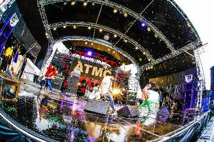 THE FOREVER YOUNG『RUSH BALL 2019』クイックレポート ーーどしゃ降りの雨の中、ATMCに男の生き様を刻んだエバヤンの壮絶ライブ