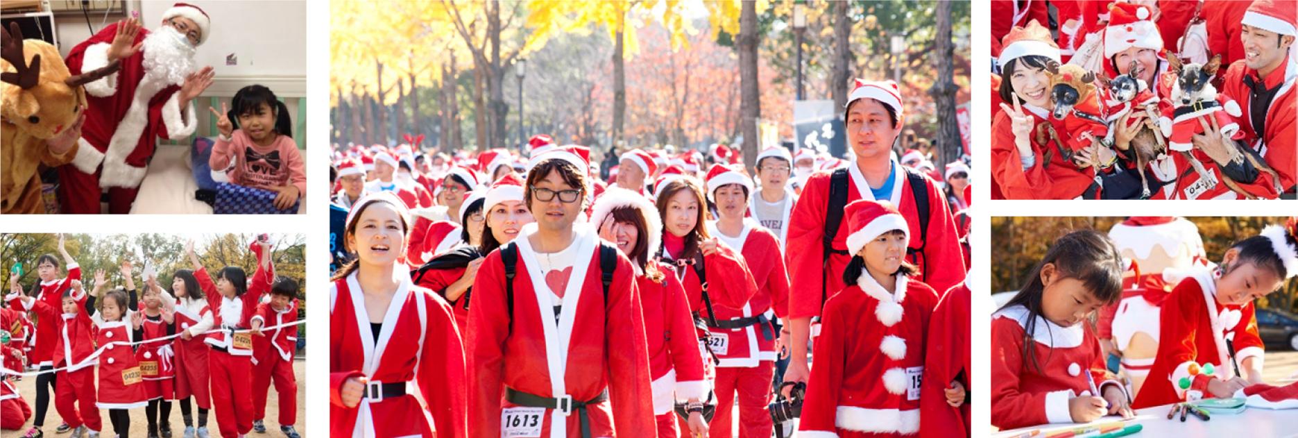 サンタクロース姿のランナーが神宮外苑に集結!(※画像はイメージ)