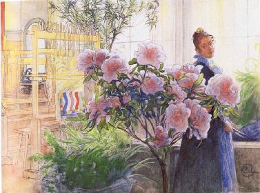 スウェーデンの暮らしを芸術に変えた画家、カール・ラーションの展覧会が開催 世界を魅了した家族のライフスタイルに迫る