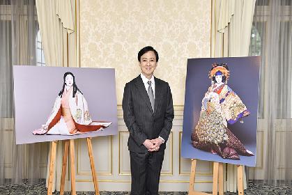 坂東玉三郎「歌舞伎座なりの歌舞伎座らしい新作を」 『十二月大歌舞伎』への思いを語る