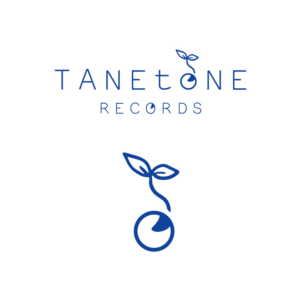 『TANEtoNE RECORDS(タネトーンレコーズ)』ロゴ